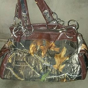Handbags - Camo hangbag